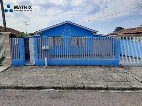 Imagem 1 de 10 de Casa Com 3 Dormitórios À Venda, 182 M² Por R$ 450.000,00 - Novo Mundo - Curitiba/pr - Ca1505