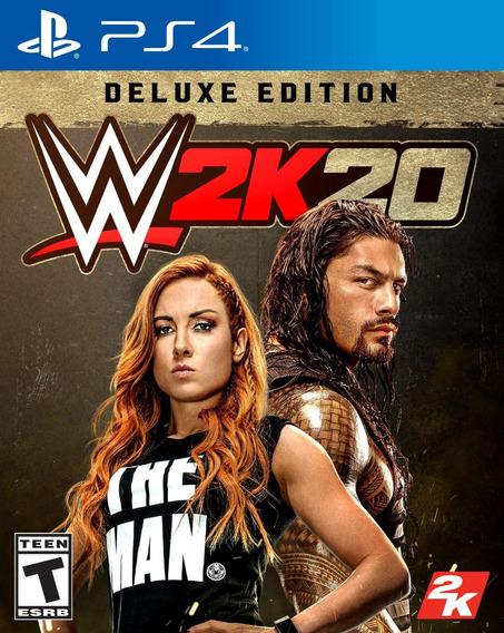 Wwe 2k20 2020 Deluxe Edition Ps4 | Mídia Digital | Envio Já