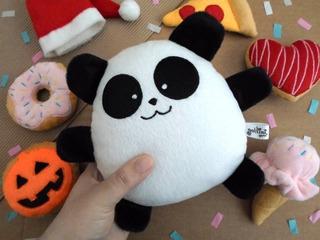 Oso Panda Peluche Decoración Cumpleaños Guyuminos Bebé Niño