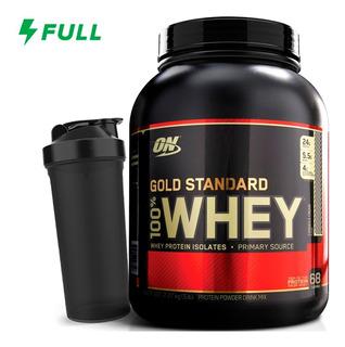 Whey Gold Standard 2270g (5 Lbs) Optimum On + Coqueteleira