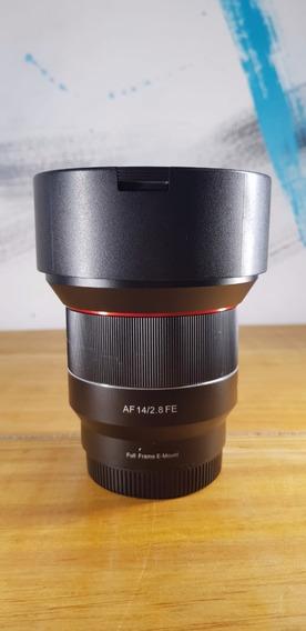 Lente Rokinon 14mm F2.8 Auto Foco Bocal Sony