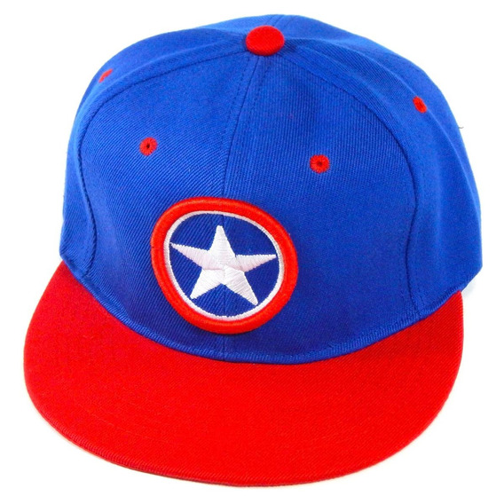 Gorra Capitan America Escudo Snapback Avengers Infinity War