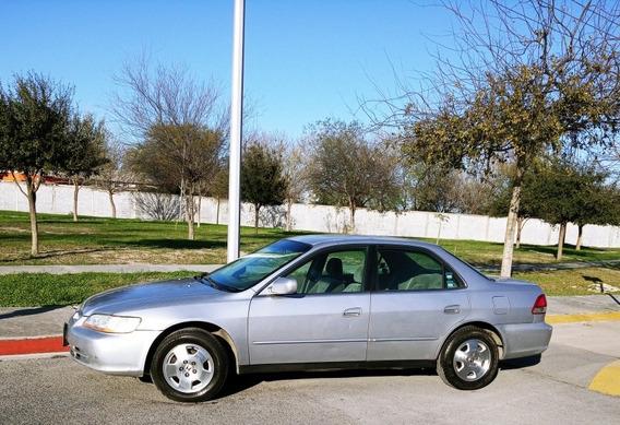 Honda Accord 3.0 Ex-r Sedan V6 Piel Abs Qc Cd Mt 2001