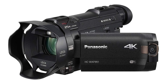 Panasonic Hc-wxf991k 4k Ultra Hd Filmadora Com Twin Camera