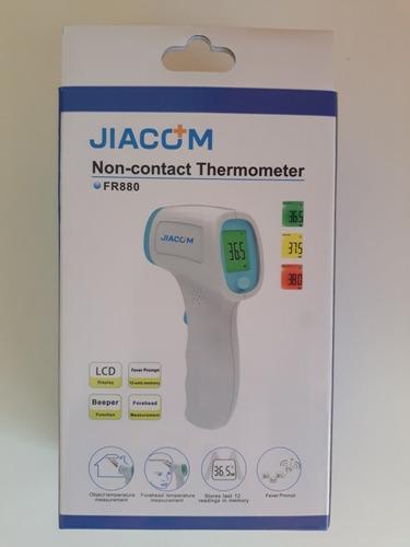 Termometro Digital Sin Contacto Jiacom Fr880 Mercado Libre Senza contatto della fronte infrarossi a cristalli liquidi digital pertermomete a infrarossi sulla fronte termometro. termometro digital sin contacto jiacom fr880
