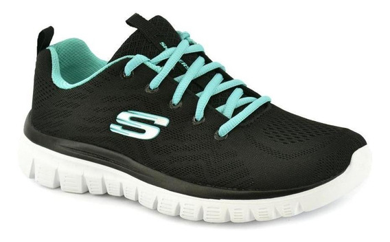 Zapatilla Skechers Mujer Graceful Get Connected Running