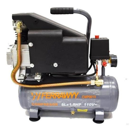 Compresor Ferrawyy 8l 1.5hp