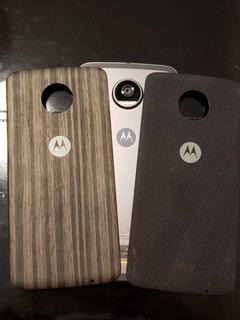 Motorola Z2 Play + Módulo Parlante Jbl Excelente Estado