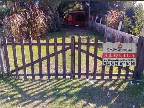 Alquiler Casa  San Luis Un Dormitorio