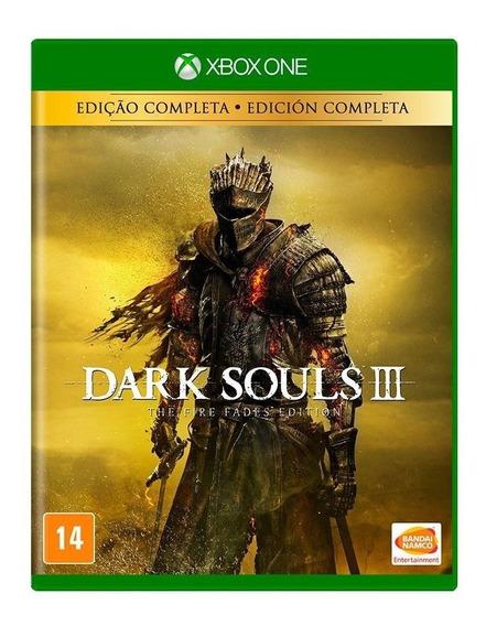 Dark Souls 3 Fire Fades Edition Xbox One Mídia Física