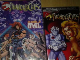 Thundercats Dvd E Revista Hq