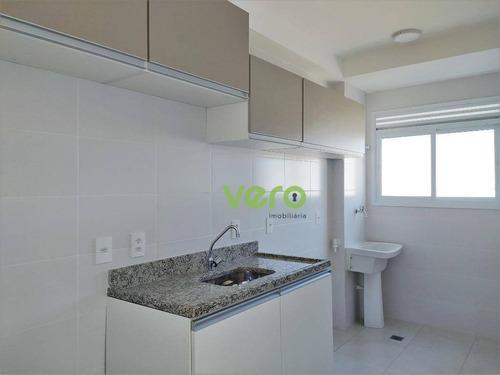 Apartamento Com 2 Dormitórios Para Alugar, 54 M² Por R$ 950,00/mês - Cariobinha - Americana/sp - Ap0235