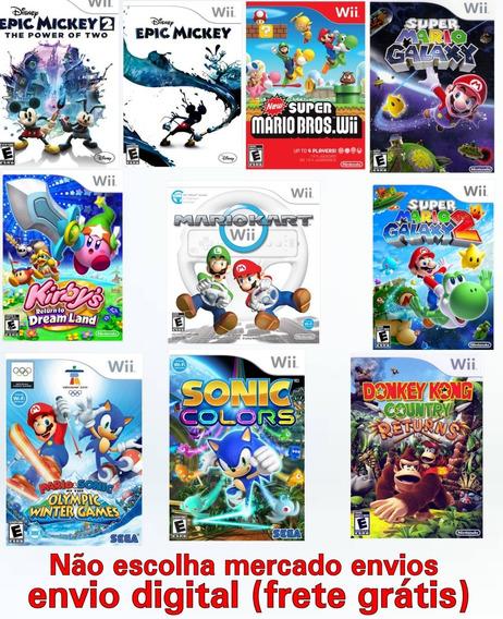 10 Jogos Para Nintendo Wii