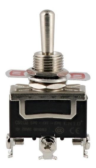 Interruptor Cola De Rata 1p+2t On-off-on Inest. C5r13b Cntd