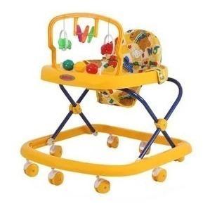 Andador Con Juguetes Y Sonidos Bebesit Amarillo