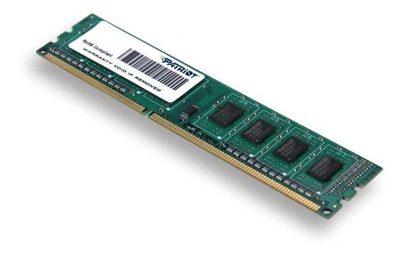 Memoria Ram 4gb Patriot Signature Pc3-10600 (1333 Mhz) Ddr3 Psd34g13332