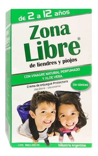 Zona Libre Crema De Enjuague Protectora X 200 Ml