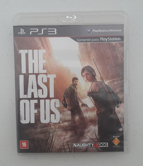 Jogo The Last Of Us - Ps3 - Midia Fisica - Português - Play