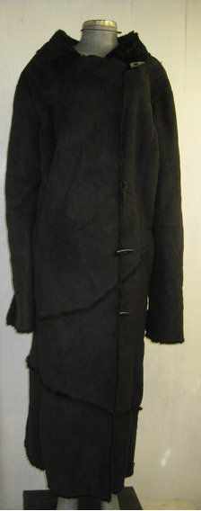 Abrigo Talla 3xl Moda Yeti Color Negro Marca Roaman