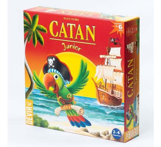 Juegos De Mesa Catan Junior