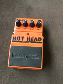 Pedal Para Guitarra Digitech Hot Head Distortion Semi Novo