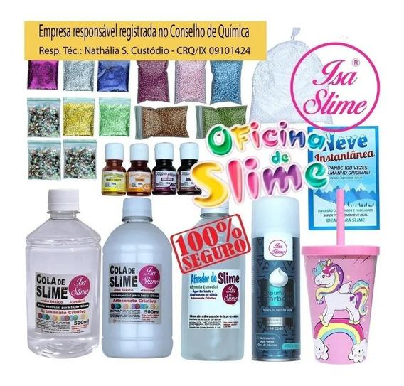 Kit P/fazer Slime Premium Isa Slime Original