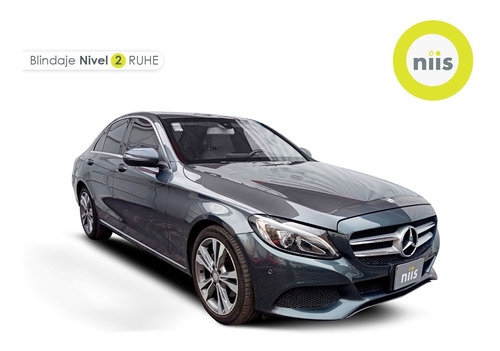 Imagen 1 de 15 de Mercedes Benz Clase C 2017 2.0 C 250 Sport At Blindado Nivel
