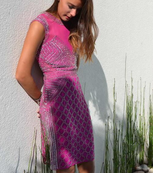 Vestidos De Fiesta Bordados Importados Cortos Di Lulu