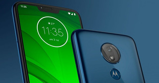 Motorola G7 Power Con Funda Y Vidrio Tempado