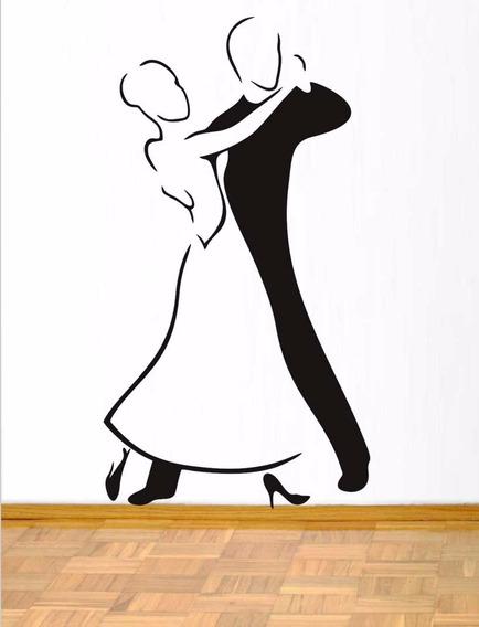 Adesivo De Parede Dança De Salão 70x115 Cm