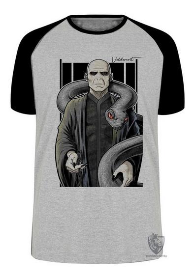 Camiseta Blusa Plus Size Voldemort Vilão Harry Potter Bruxo
