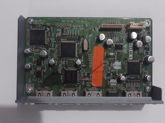 Placa Hdmi Receiver Sony Muteki 7500 - Cód 1-878-366-13