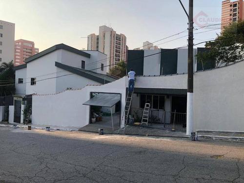 Sobrado Com 440m²  3 Dormitórios , Sendo 3 Suites , 4 Vagas  À  Venda, 400 M² Por R$ 2.000.000 - Jardim Textil - São Paulo/sp - So1235