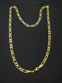 Corrente Cordão Ouro Camada 18k Garantia De Um Ano 60cm 23gr