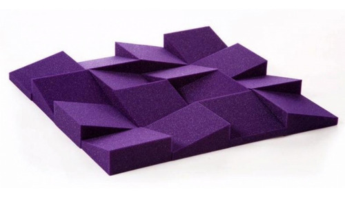 Imagen 1 de 4 de Panel Acustico Absorbente Sonoro One Wage Linea Color