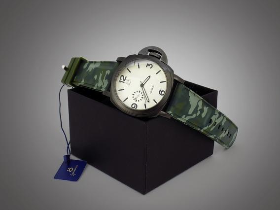 Relógio Spaceman Analógico Masculino Original Camuflado + Cx