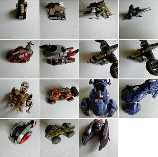 Lote Figuras Vehículos Varios Mega Construx Mega Bloks