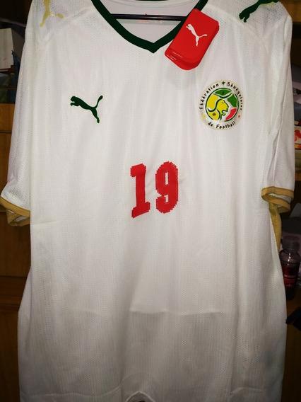 Camiseta Puma Selección De Senegal! #19 Bouba Diop