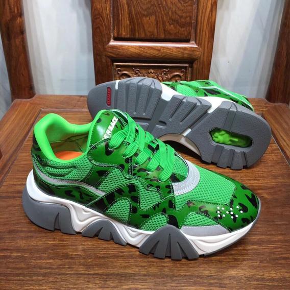 Tenis Versace Squalo Sneakers 22