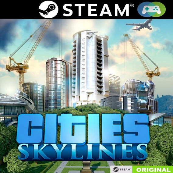 Cities Skylines - Steam + 12 Dlc