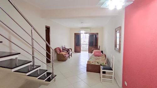 Cobertura Com 3 Dormitórios À Venda, 214 M² Por R$ 872.000,00 - José Menino - Santos/sp - Co0040