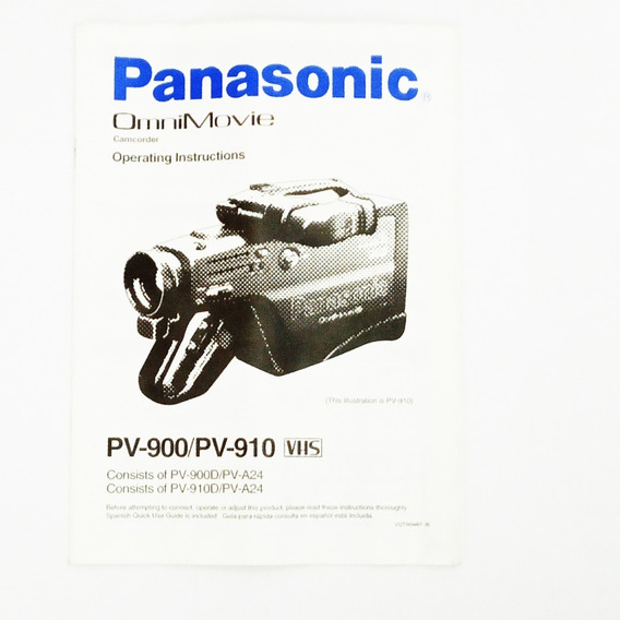 Filmadora Panasonic Pv 910 Omnimovie Vhs