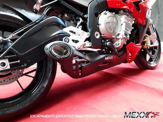 Escapamento Esportivo Mexx Bmw S1000 R Taylor Made Cod.136