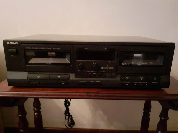 Tuner Technics St-k50 + Tape Deck Rs-tr210 Excelente Estado