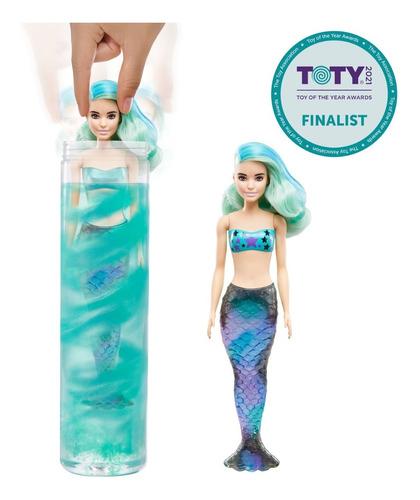 Barbie Color Reveal Sirena-mermaid Series-mattel-tma+