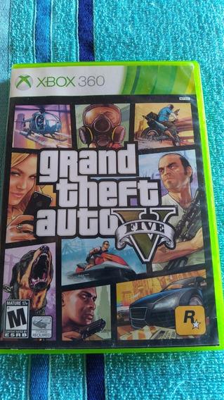Gta 5 - Dvd 2 Não Funciona - Xbox 360