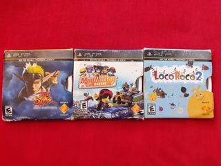 Psp Jak And Daxter Mod Nation Racers Loco Roco 2 Psp Lote