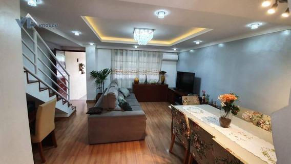 Sobrado Com 3 Dormitórios À Venda, 123 M² Por R$ 470.000 - Núcleo Residencial Isabela - Taboão Da Serra/sp - So0171