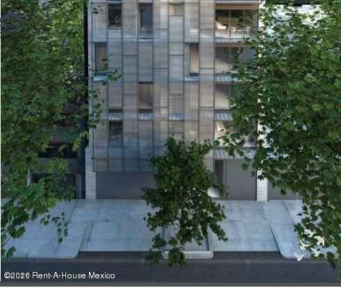 Departamento En Renta En Roma Norte, Cuauhtémoc, Rah-mx-20-1470
