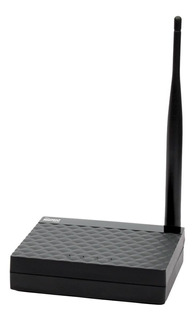 Roteador, Repetidor, Access point Maxprint Maxlink 150AF preto 110V/220V